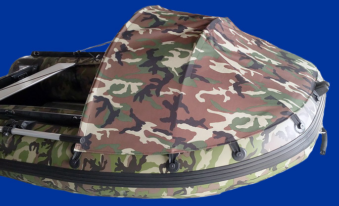 Bateau annexe pneumatique Charles Oversea camouflage 3.0cc